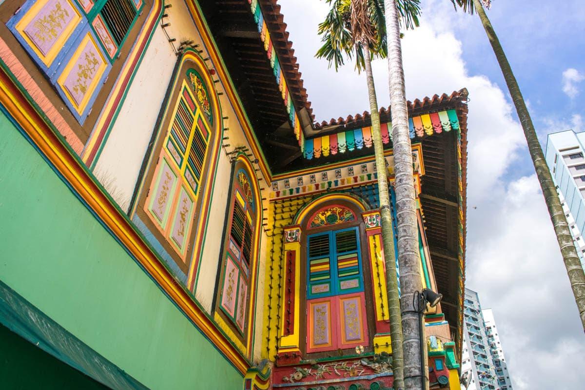 Maison de Tan Teng Niah, Little India, Singapour