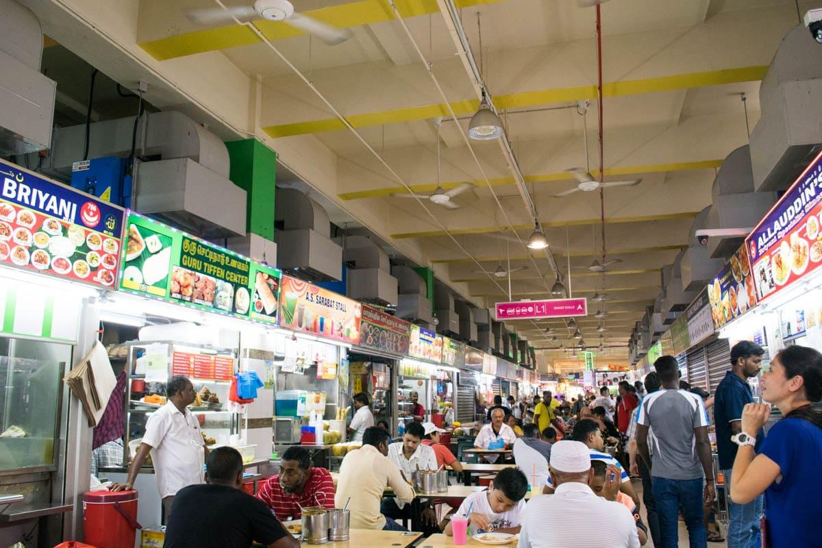 Tekka Market in Little India, Singapore