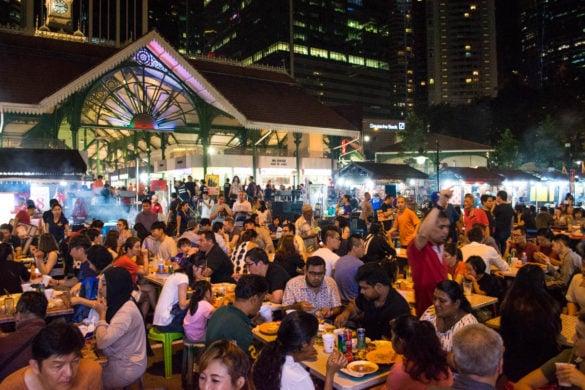 Satay Street, Singapour