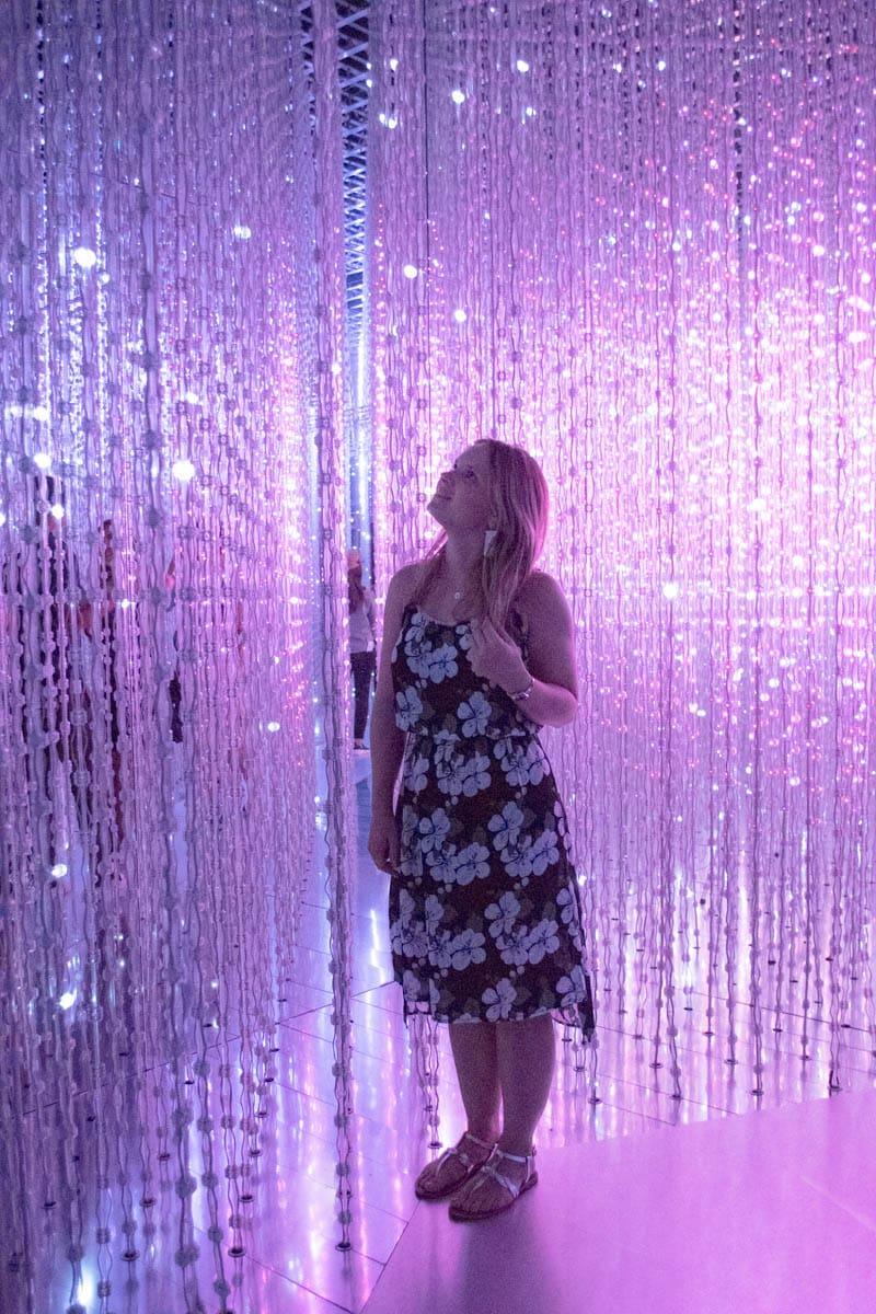 L'exposition Inside the Future Worlds à l'Art Science Museum de Singapour