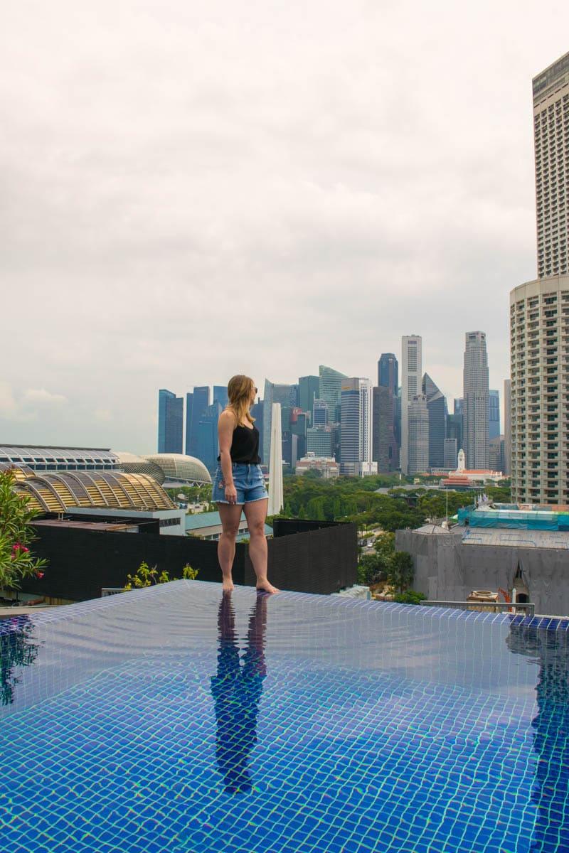 Naumi Hotel Swimming Pool, Singapore