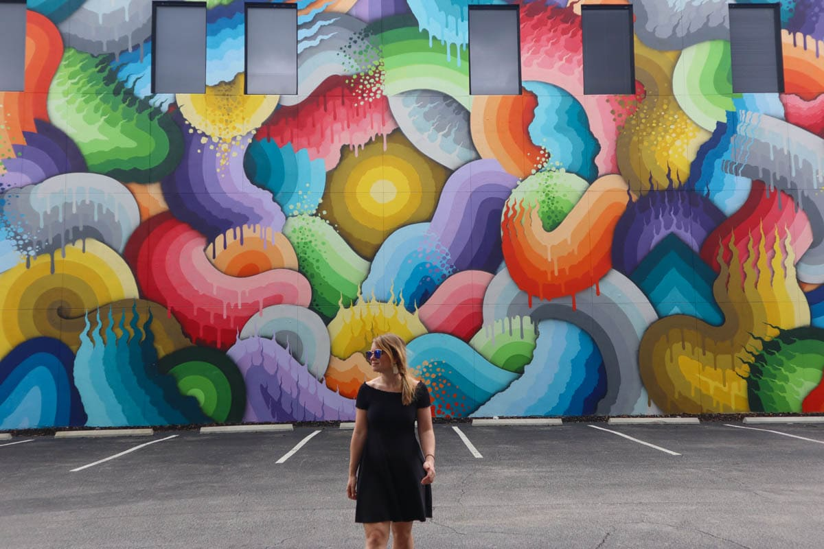 Exploring St Petersburg's street art scene, Florida