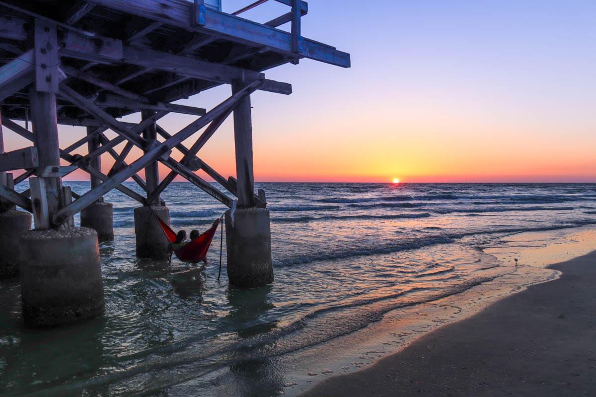 Sunset at Redington Shores, Florida