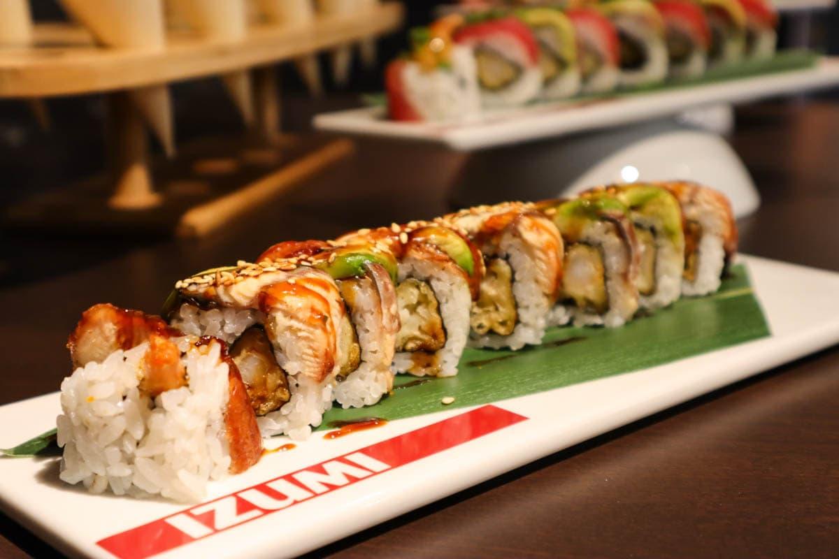 Sushi at Izumi on Royal Caribbean Independence Of The Seas