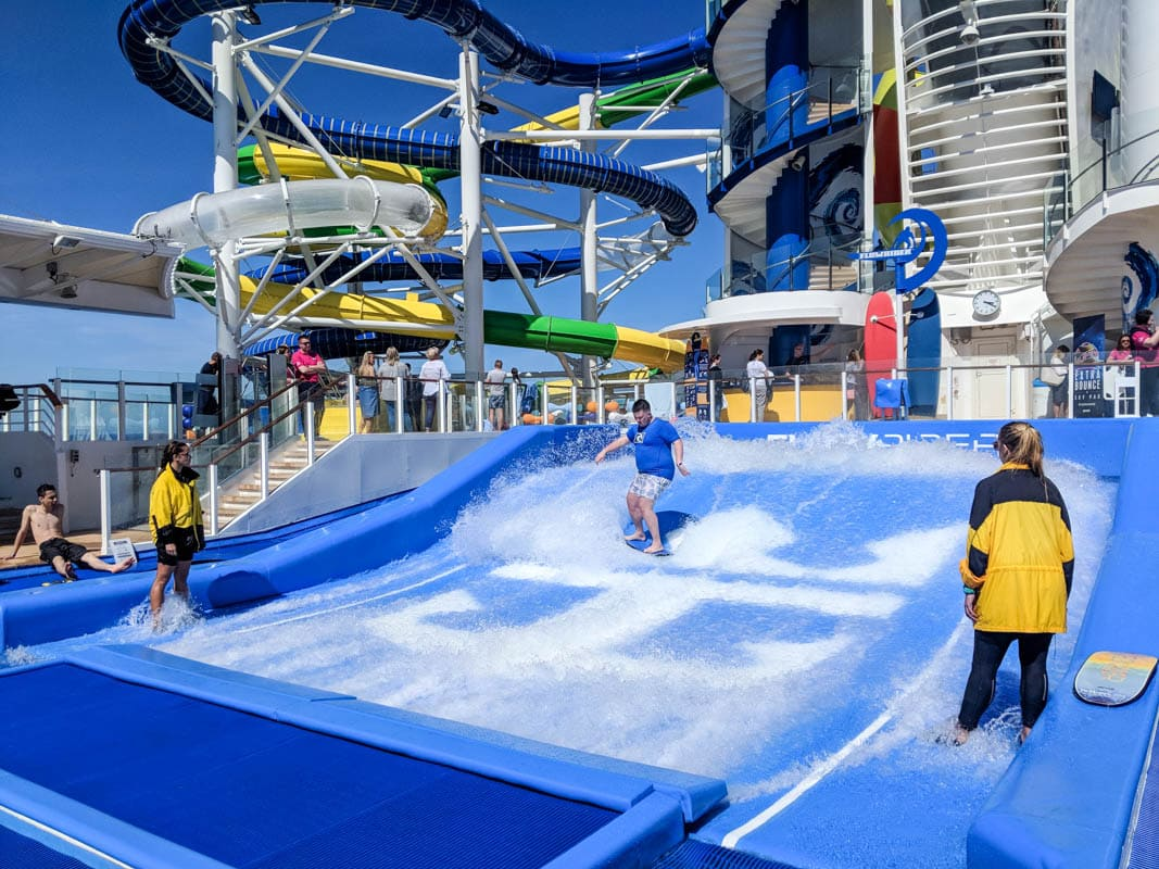 FlowRider on board Independence Of The Seas