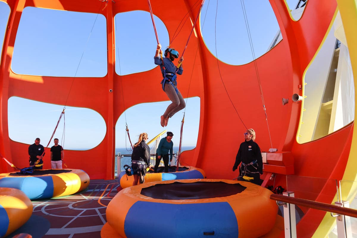 Sky Pad, Royal Caribbean Independence Of The Seas