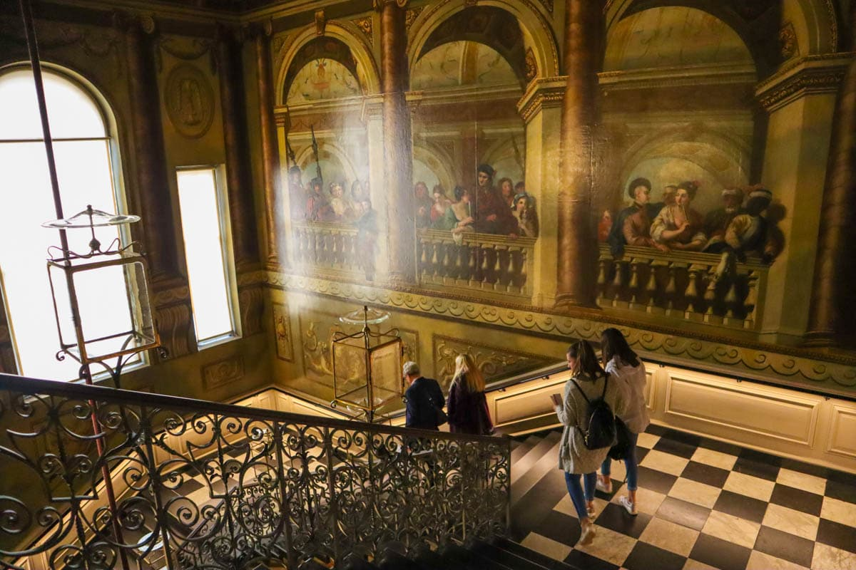 The King's Grand Staircase, Kensington Palace, London
