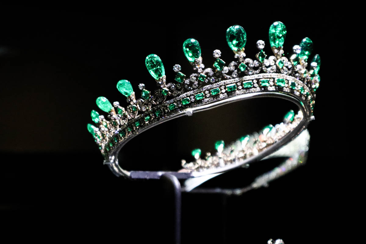 Queen Victoria's tiara, Kensington Palace, London