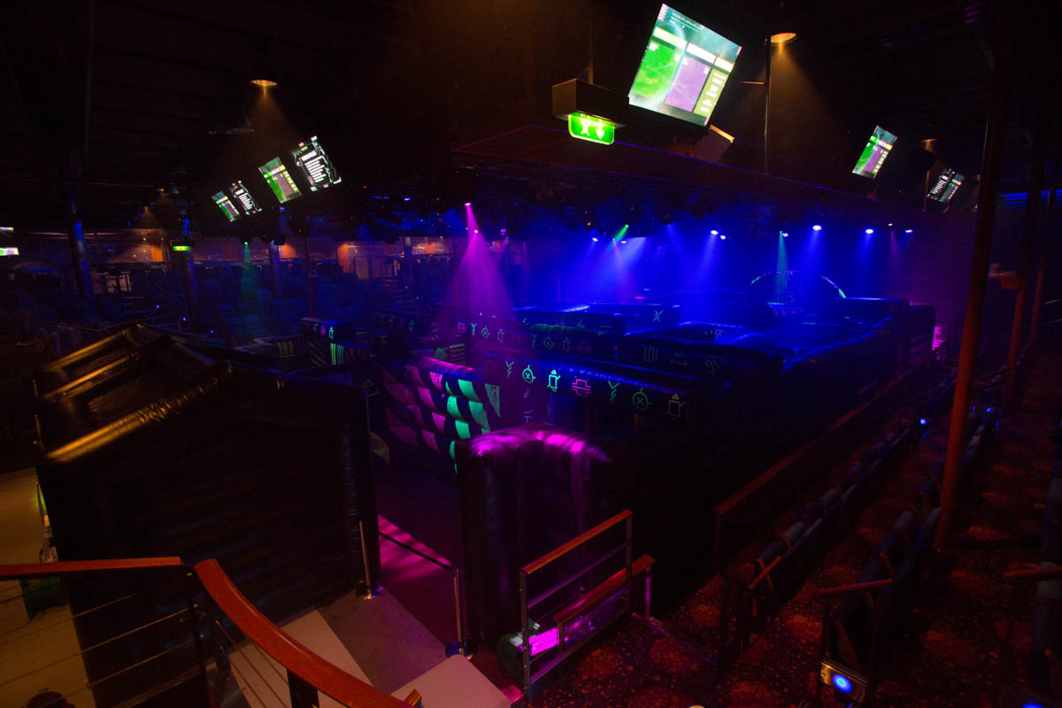 Laser tag. Independence Of The Seas
