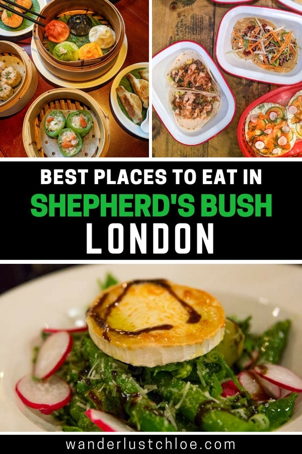 Best Places To Eat In Shepherd's Bush, London