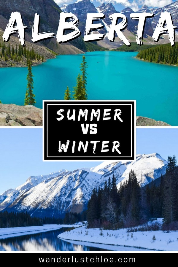Alberta Summer Vs Winter