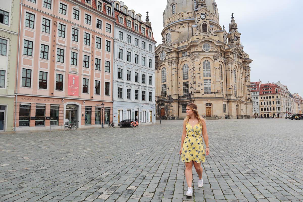 Exploring Neumarkt in Dresden