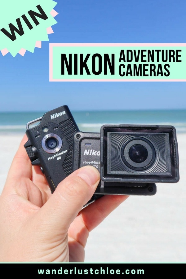 Win A Pair Of Nikon KeyMission Adventure Cameras