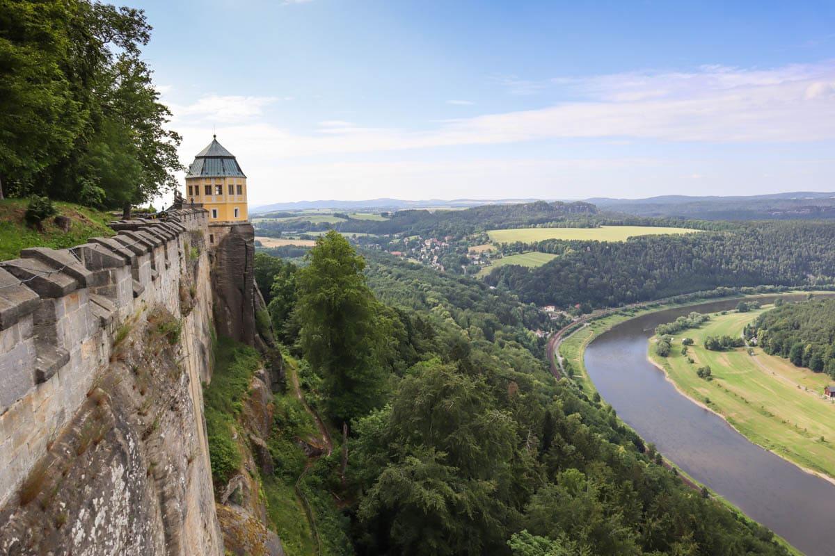 Königstein Fortress, Saxon Switzerland