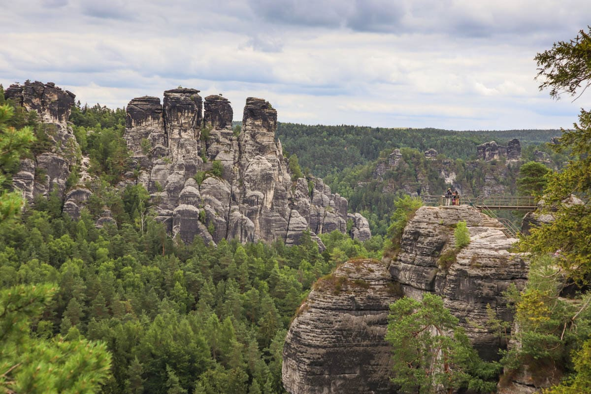 Elbe Sandstone Mountains, Saxon Switzerland, Germany