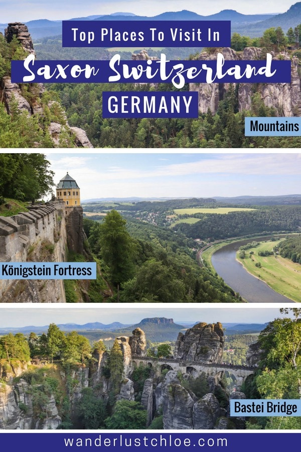 Top Places To Visit In Saxon Switzerland, Germany