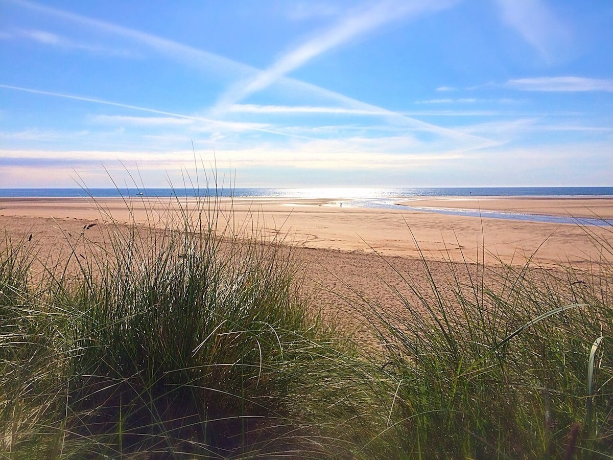 Alnmouth Beach, Northumberland
