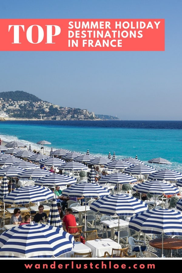 Top Summer Holiday Destinations In France