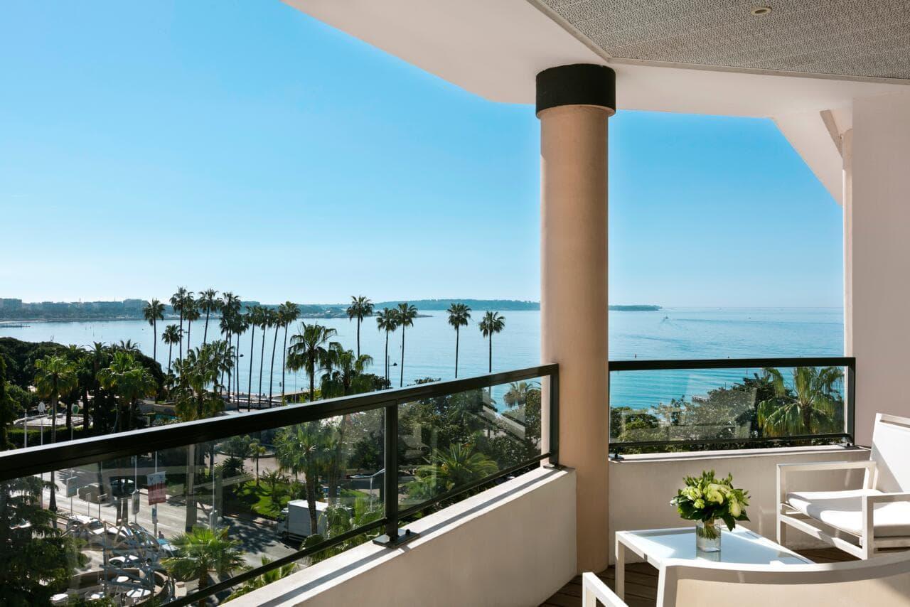 Views from Hôtel Barrière Le Majestic Cannes