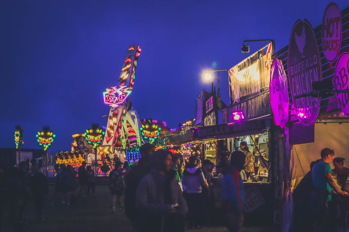 Funfair at Boardmasters 2018