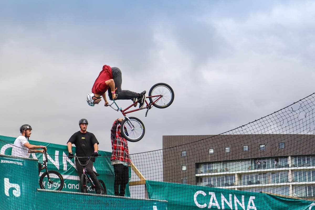 BMX competition, Boardmasters 2018