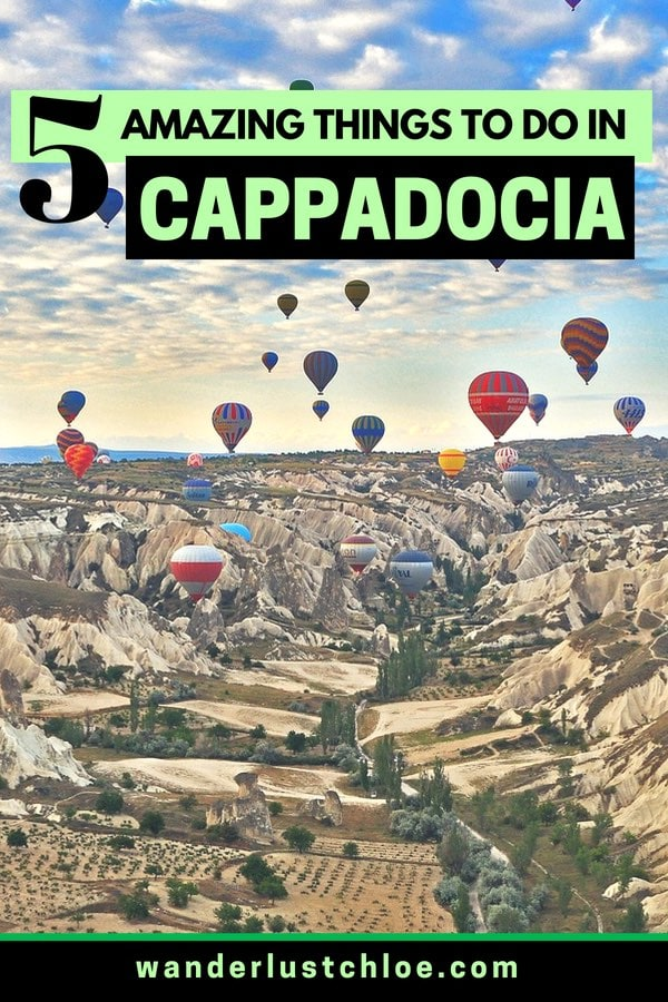 5 Amazing Things To Do In Cappadocia