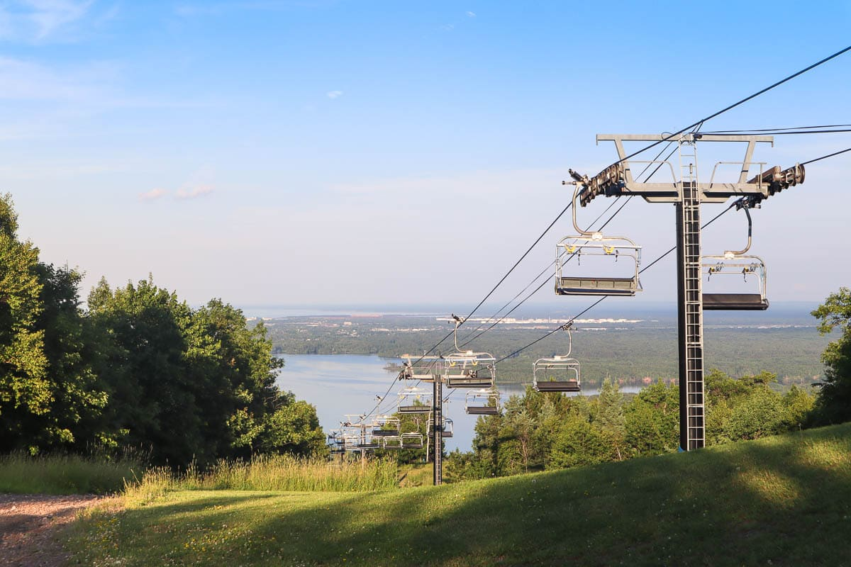 Spirit Mountain Cable Car, Duluth, Minnesota