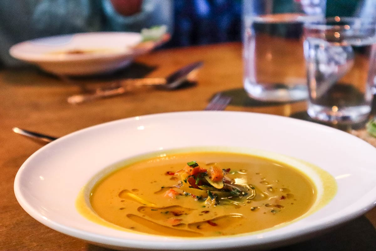 Mulligatawny soup, The Murder Express, London