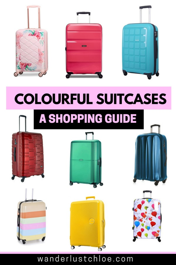 Colourful Suitcases - A Shopping Guide