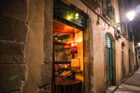 Salterio, Gothic Quarter, Barcelona