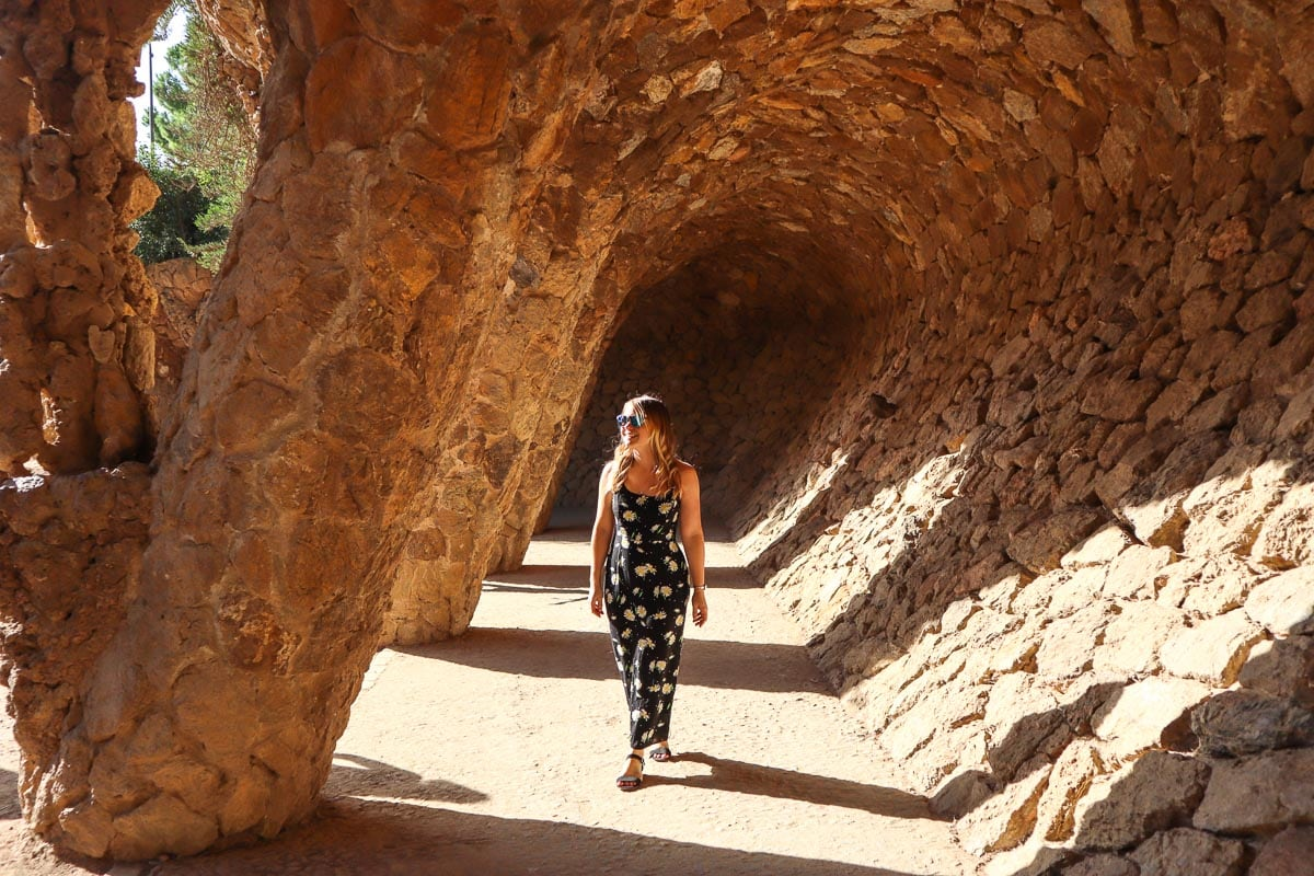 Exploring Parc Guell, Barcelona