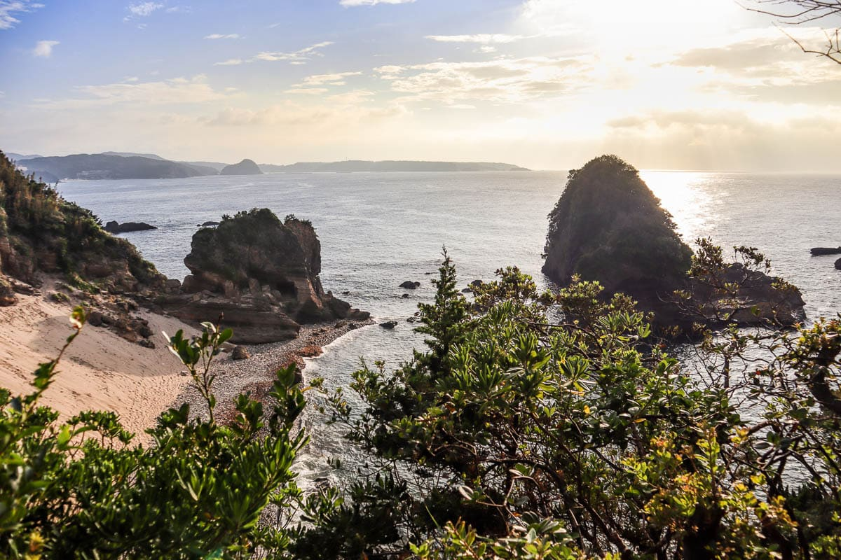 Sunrise In Izu Peninsula, Japan