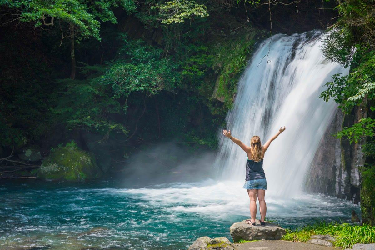 Kawazu Seven Falls, Izu Peninsula, Japan