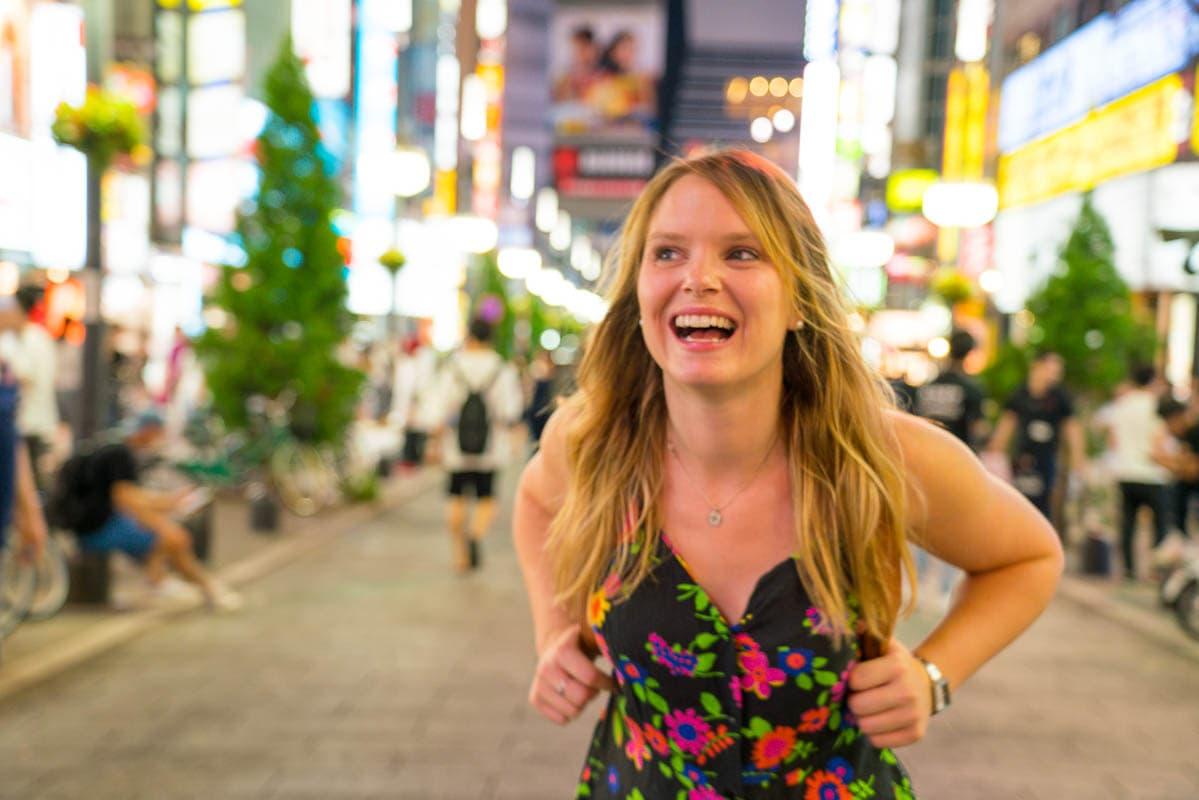 Enjoying Shinjuku, Tokyo