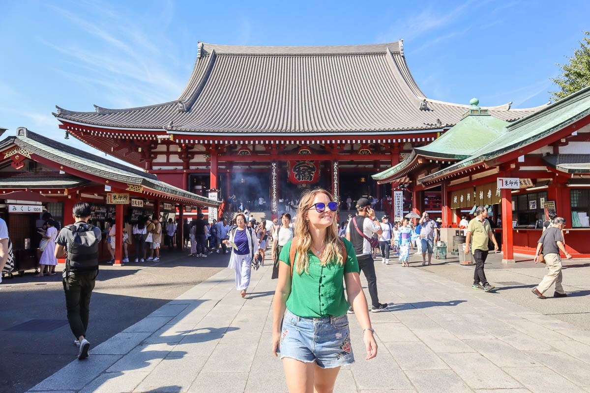 Exploring Asakusa, Tokyo, Japan