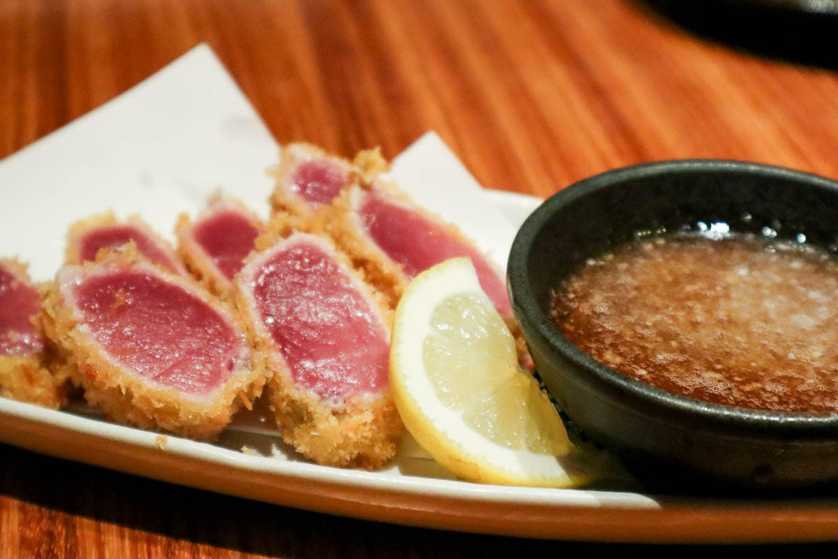 Seared tuna in Wakayama, Japan