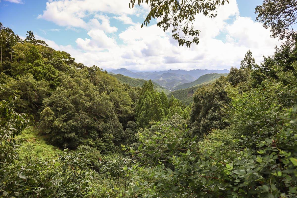 Wakayama mountain views
