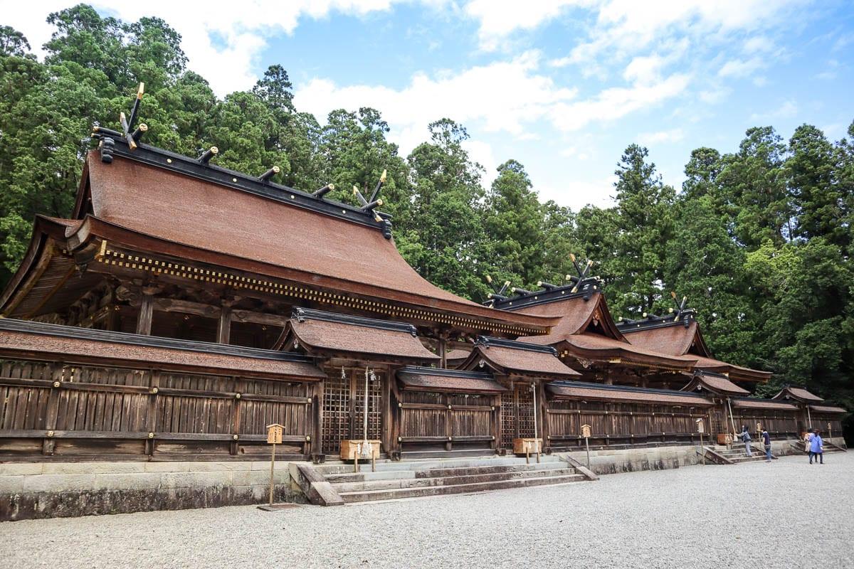 Hongu Taisha Grand Shrine, Wakayama, Japan
