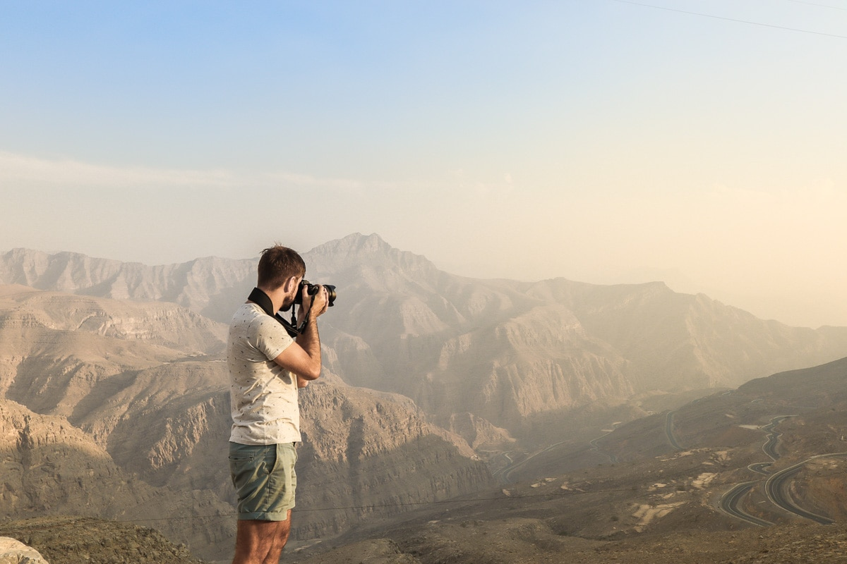 Exploring the Jebel Jais Mountains, Ras Al Khaimah, UAE