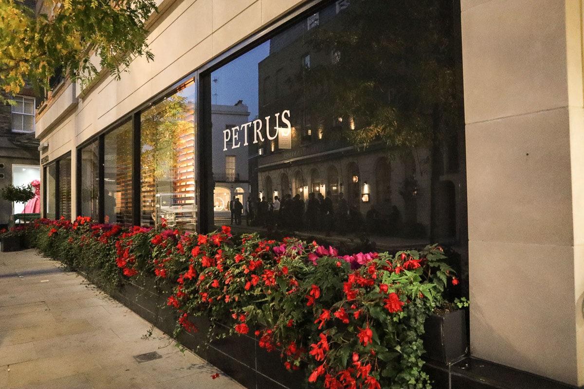 Petrus Restaurant, London