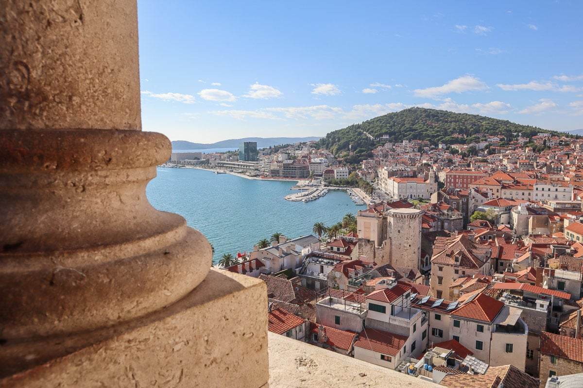Incredible views from Split's Bell Tower