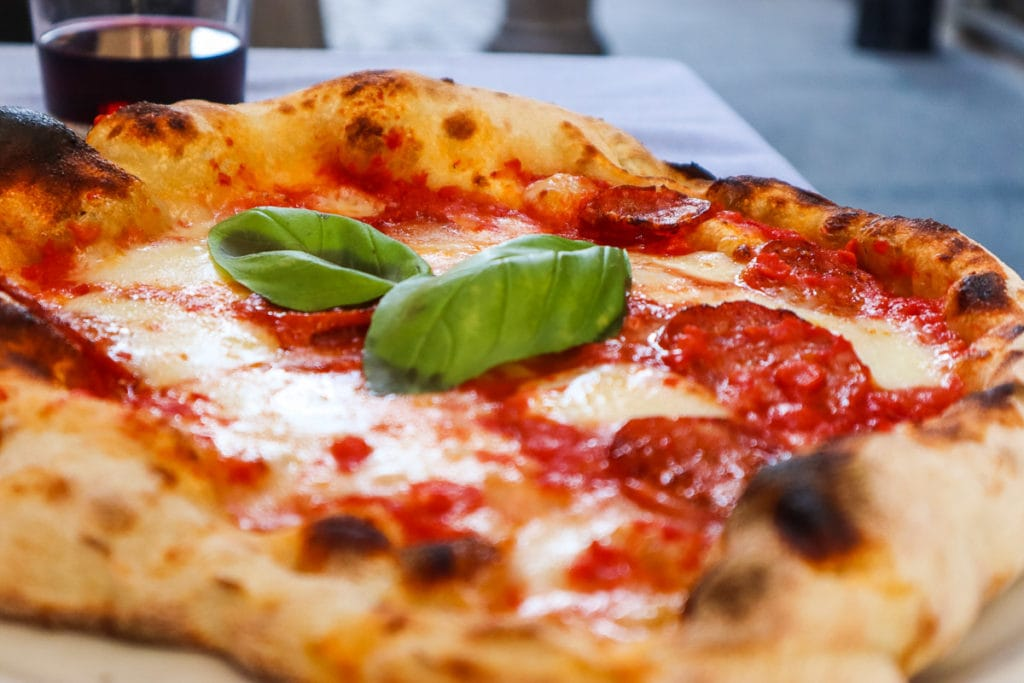 Pizza at Sicomoro, Turin - some of the best pizza in Turin