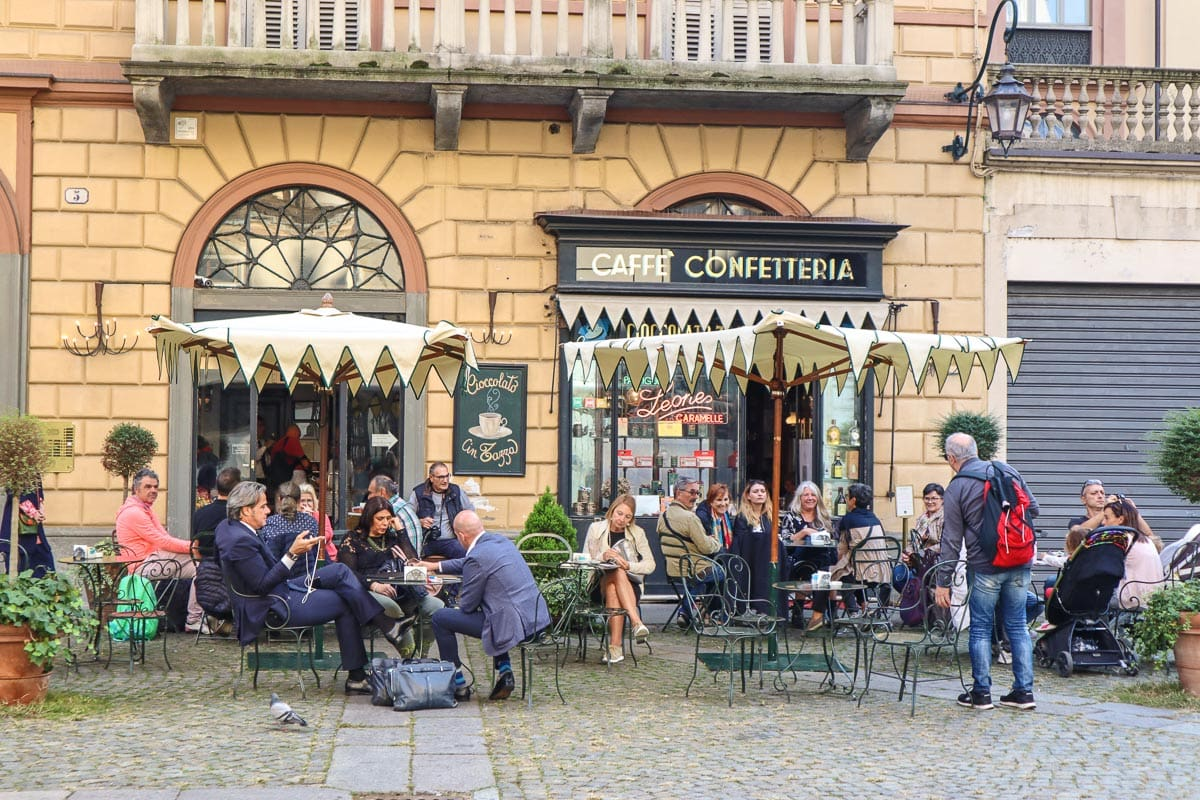 Caffe Al Bicerin, Turin's oldest cafe, Italy