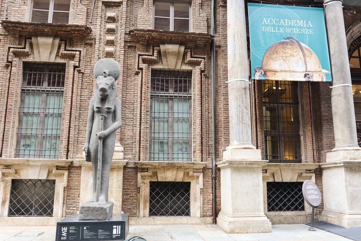Learn about Egyptian history at Museo Egezio - one of the top things to do in Turin