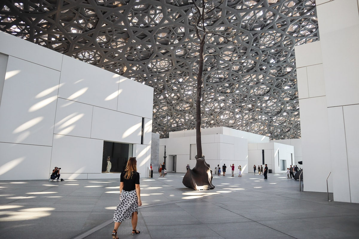 Exploring The Louvre, Abu Dhabi, UAE
