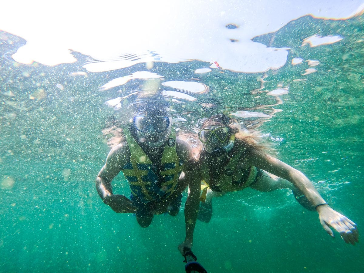 Snorkelling at Snoopy Island, Fujairah, UAE