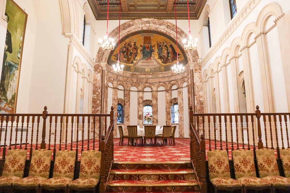 The chapel room at Luton Hoo Hotel, Golf & Spa