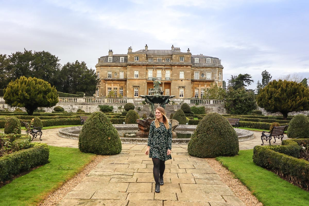 Exploring the gardens at Luton Hoo