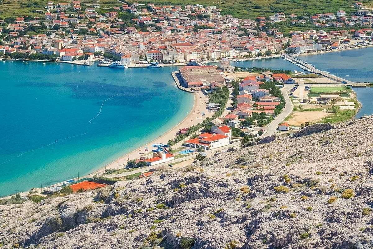 Sailing in Croatia? Visit Pag for views like this