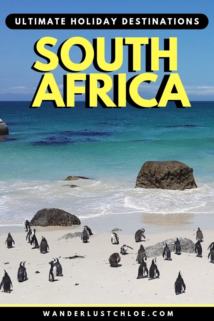 Best Holiday Destinations In South Africa